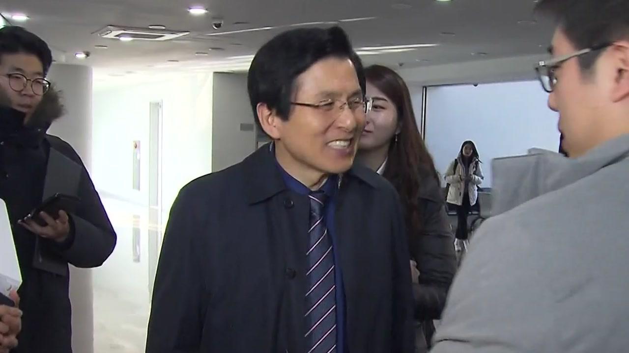 """""""황교안, 자유한국당 조만간 입당...전당대회 저울질"""""""