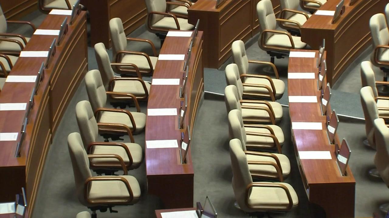 '선거제 개혁' 약속된 시간 한 달...문도 못 연 '1월 국회'