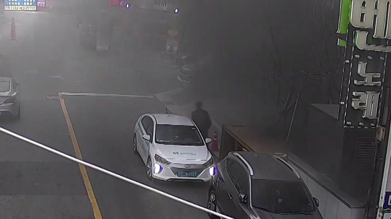 [영상] '천안 호텔 화재', 순식간에 검은 연기로 뒤덮였다