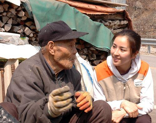 """한혜진, 월드비전에 3천만 원 기부...""""국내 난방 소외가정 지원"""""""