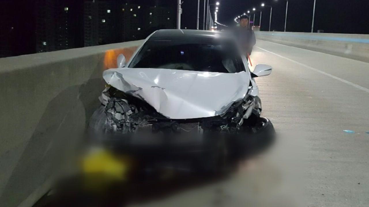 추돌 사고 후 도주한 운전자, 2차 사고로 사망