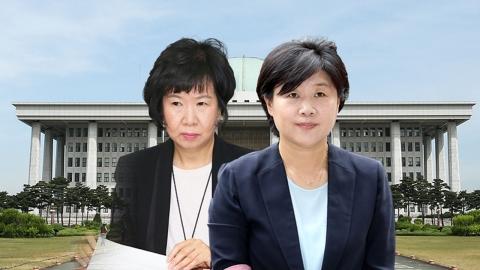 """""""손혜원 해명 수용·서영교 자진 사퇴""""…야당 반발"""