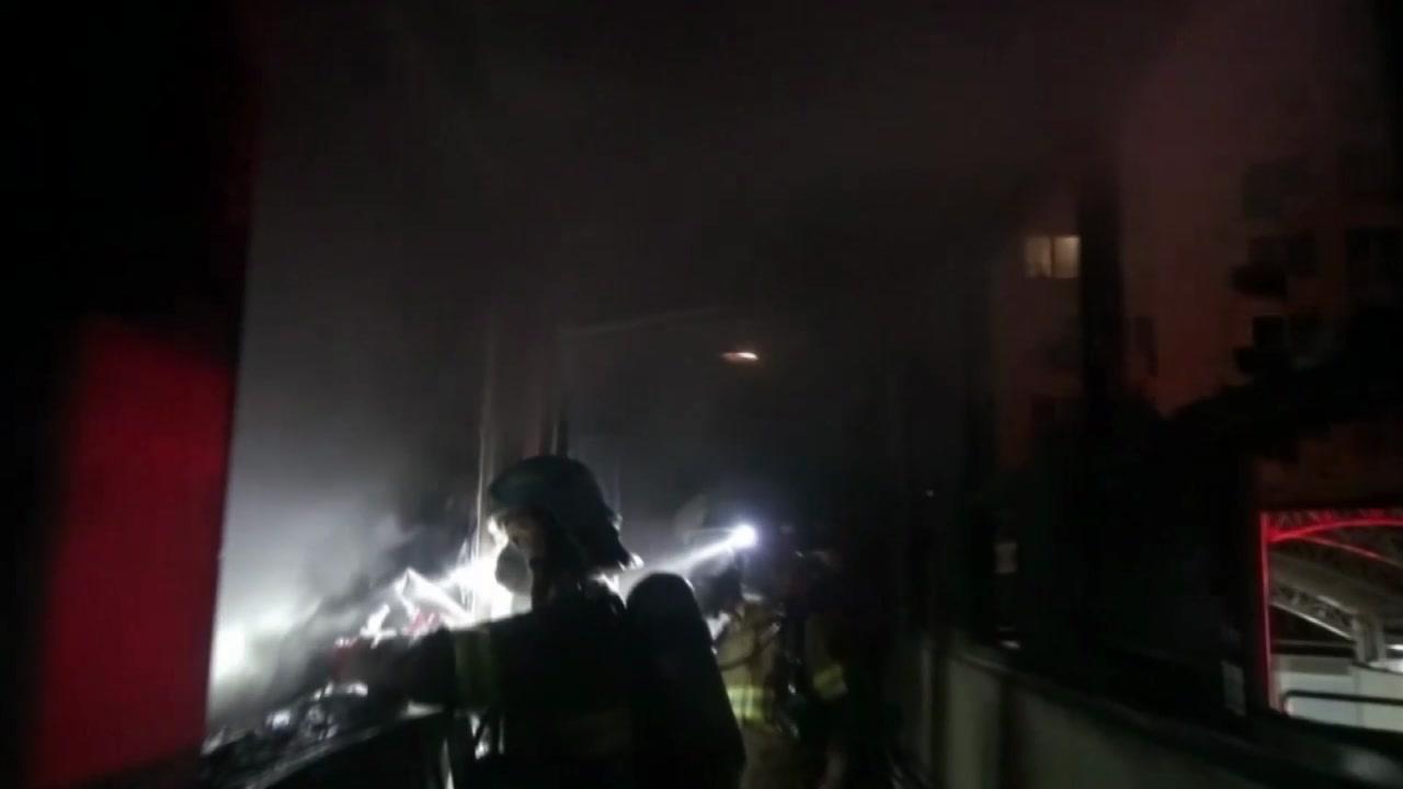 서울 강동구 아파트 화재...1명 사망·17명 후송