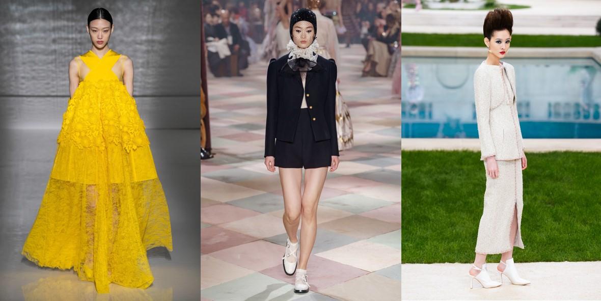 최소라-신현지-서현, 2019 SS 오트 쿠튀르 컬렉션에서 활약 돋보여