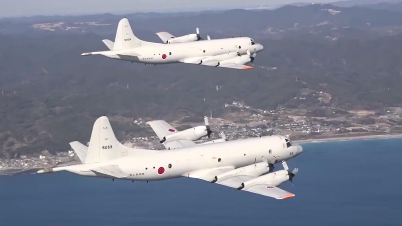 軍, 오늘 日 근접 위협 비행 영상 공개