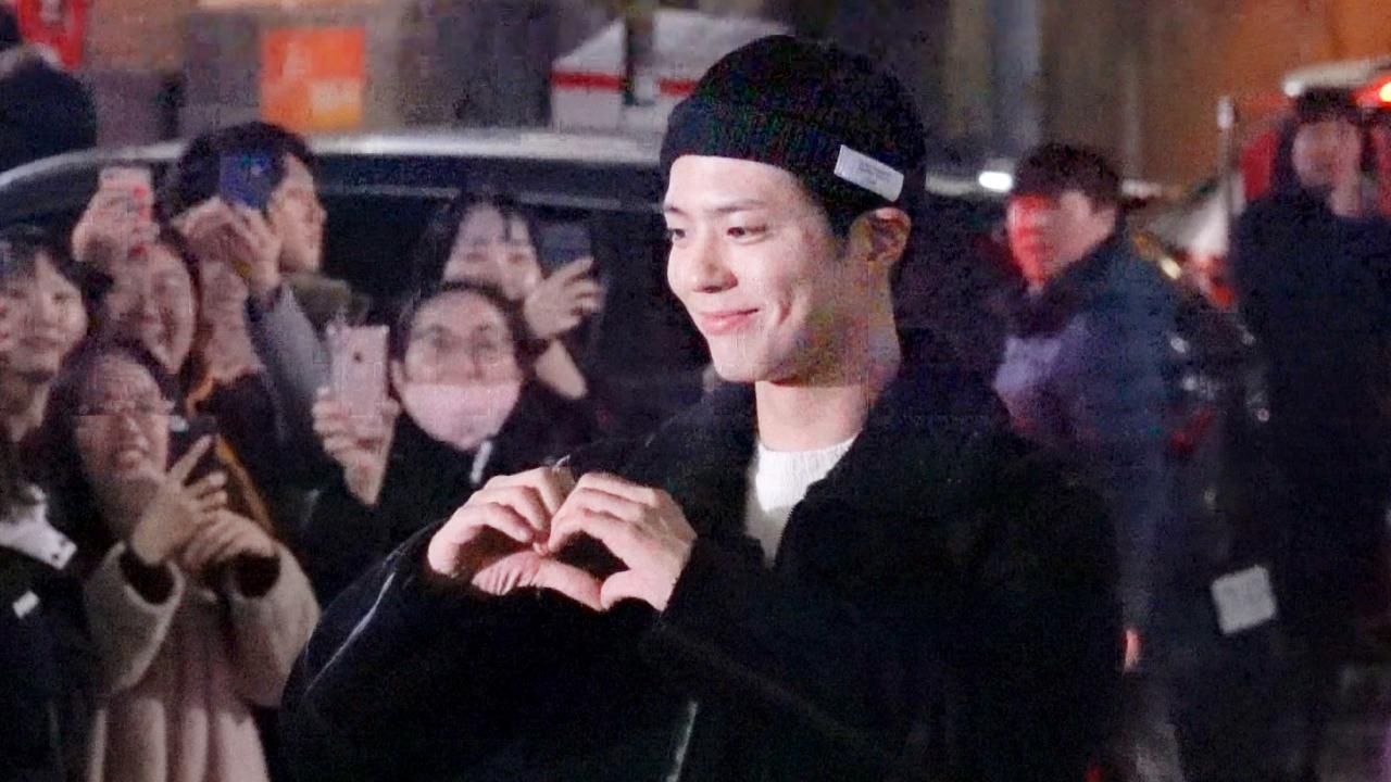 """#박보검 #피오 '남자친구' 종방연 """"많은 사랑 감사합니다!"""""""