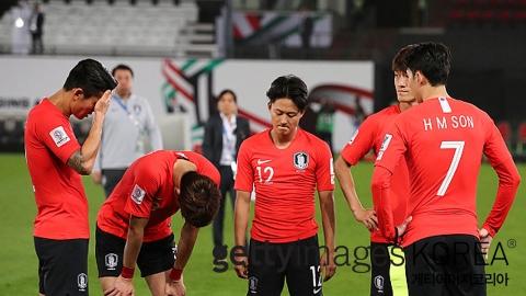 한국, 카타르에 0대 1 패배...8강 탈락