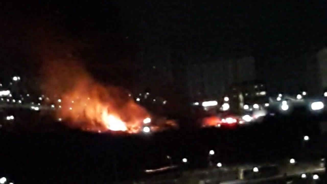 """천안서북서 """"성성동 컨테이너 화재는 기름 훔치다 발생"""""""