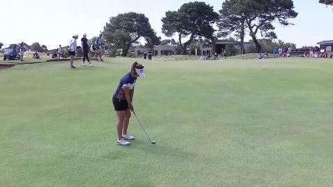 오수현, LPGA 투어 빅오픈 준우승