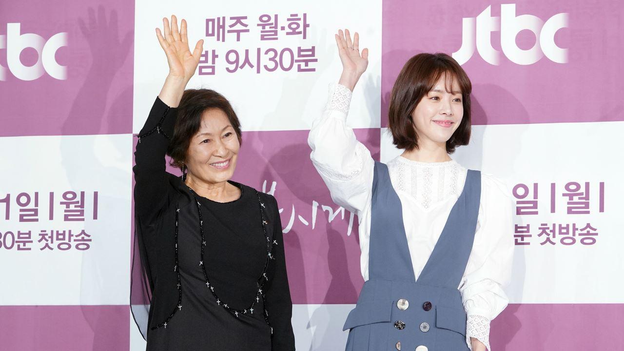 """""""이런 드라마 처음""""...김혜자·한지민, '눈이 부시게' 만나다(종합)"""