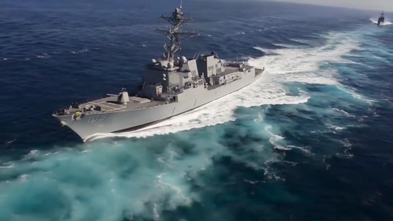 미 군함 2척, 남중국해 항해...중국 강력 반발