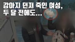 [자막뉴스] 강아지 던져 죽인 여성, 두 달 전에도...