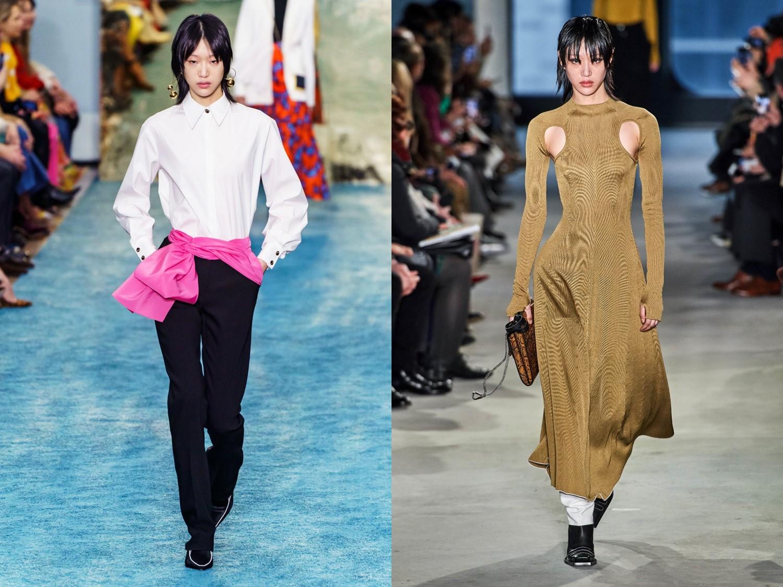 최소라-신현지-배윤영, 19FW 뉴욕 패션위크 완벽 접수