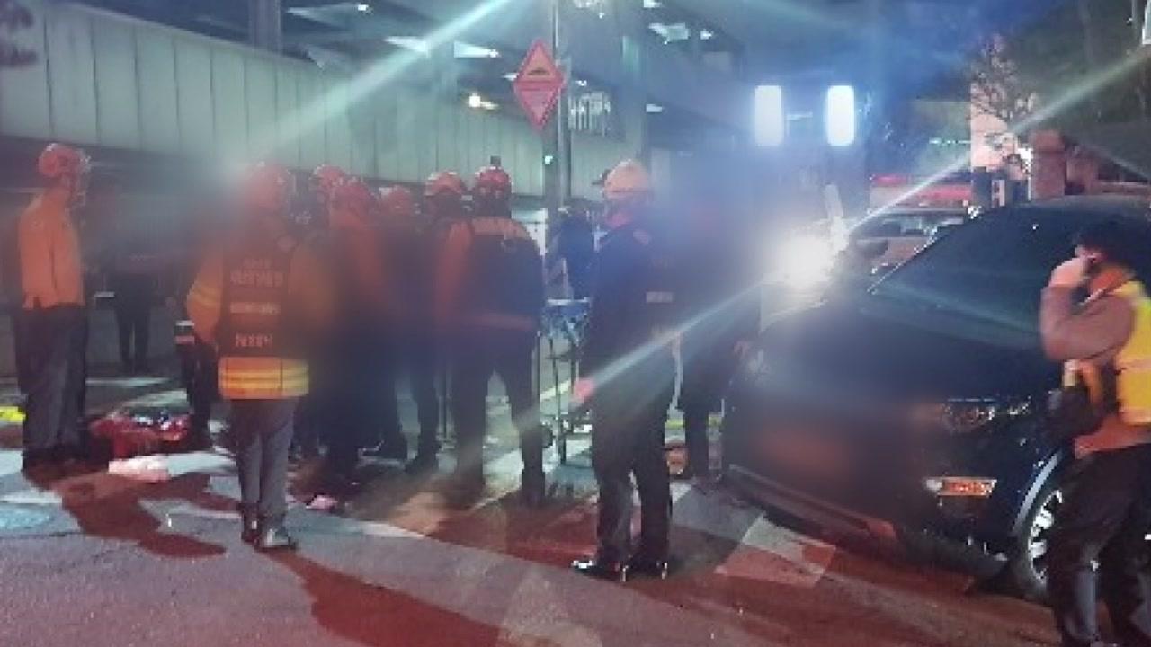 96세 남성이 몰던 차량에 보행자 치여 사망