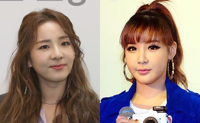 """YG 측 """"산다라박, 박봄 신곡 피처링 맞다"""" (공식)"""