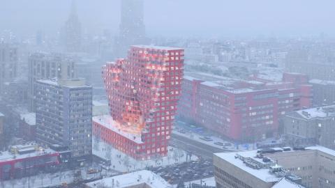 〔안정원의 건축 칼럼〕 모스크바의 도시의 상징적인 주상복합 콤플렉스 실루엣