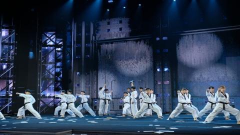 국기원 시범단, 美 CBS 경연 프로그램에서 최고 점수