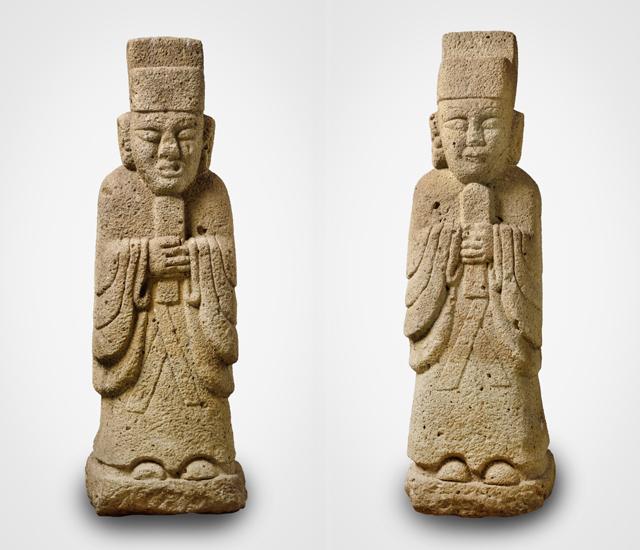 [와이파일] 독일에서 돌아오는 조선시대 문인석 한 쌍의 사연