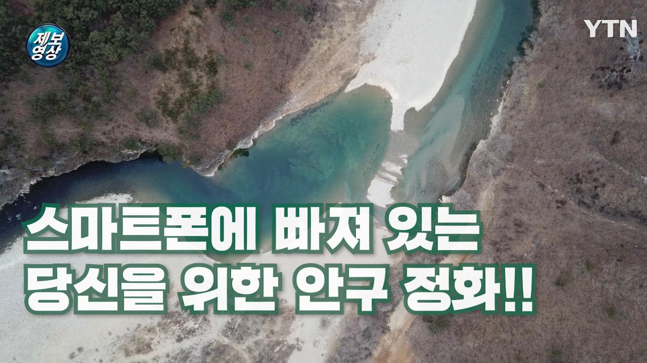 """[제보영상] """"동강으로 안구정화 어때요?"""""""