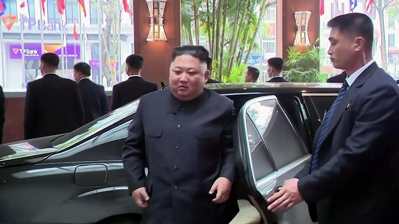 트럼프, 오늘 밤 도착...김정은 하노이 입성