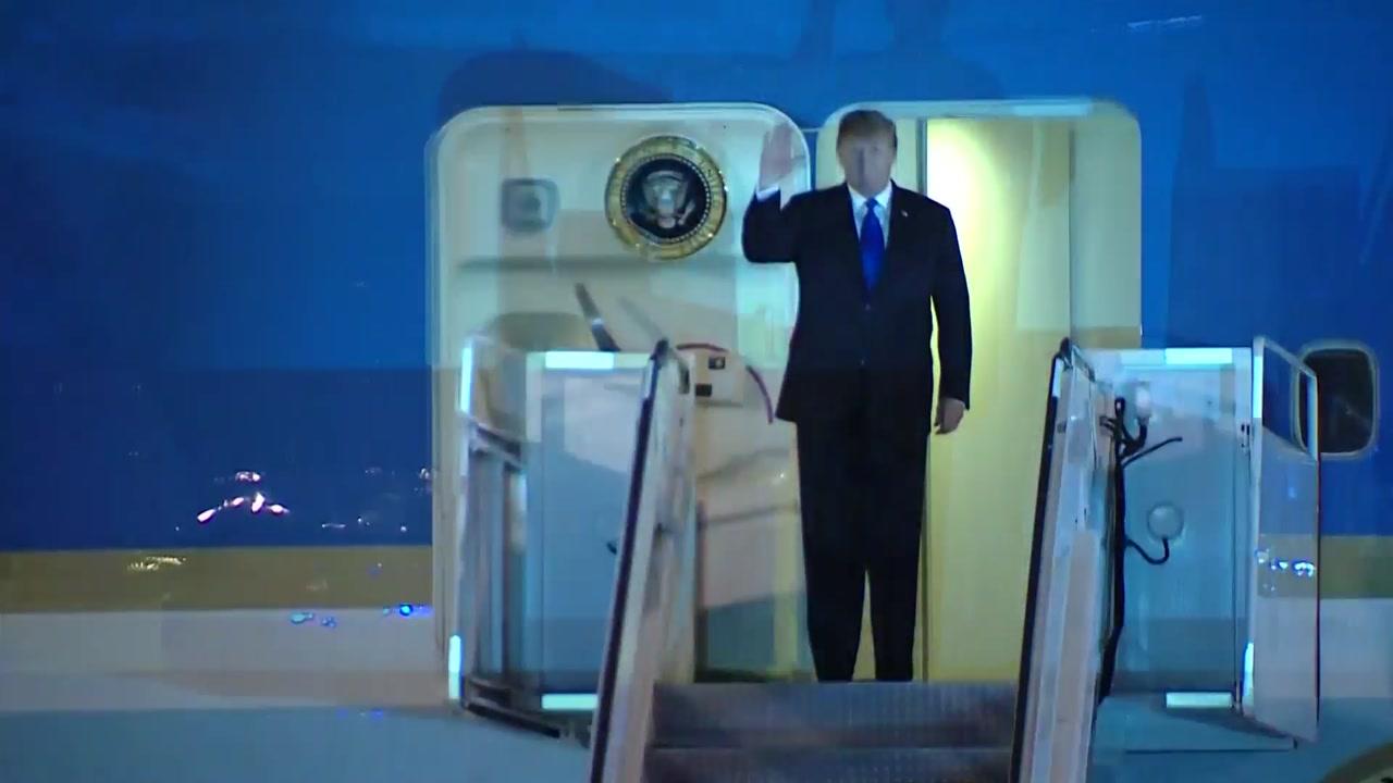 트럼프도 하노이 입성...북미 2차 핵 담판 서막