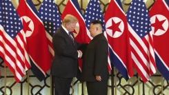[영상] 북미 정상 8개월여 만에 두 번째 만남