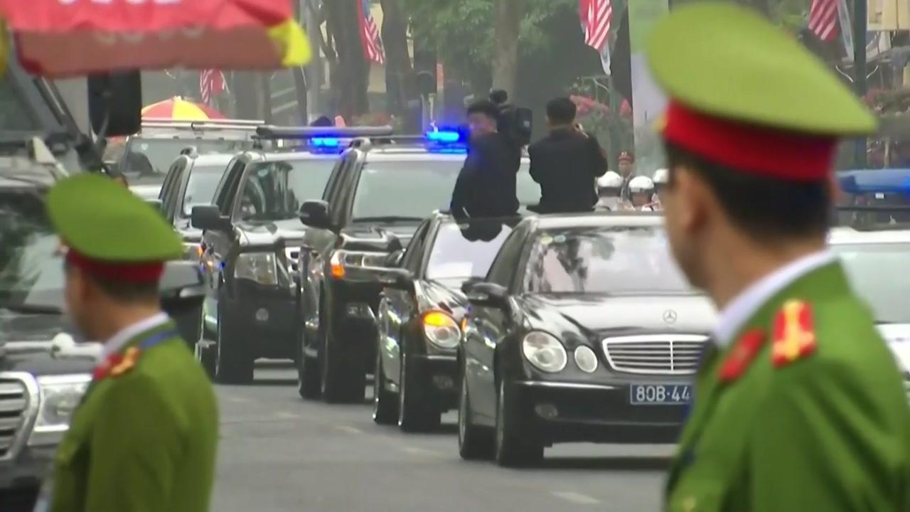 [속보] 김정은 北 국무위원장 정상회담장으로 출발
