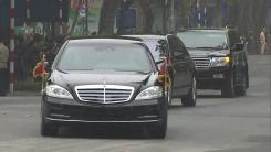 [속보] 김정은 北 국무위원장, 정상회담장 도착
