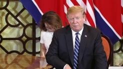 """[속보] 트럼프 """"오늘 함께 할 일 많아"""""""