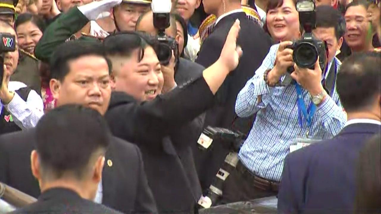 김정은 베트남 떠나 평양행...귀국길 경로 관심