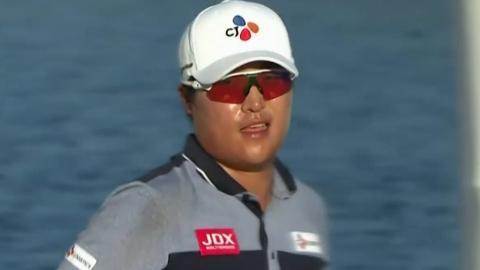 이경훈, PGA 첫 우승 기회...혼다 클래식 3R 1타 차 공동 2위