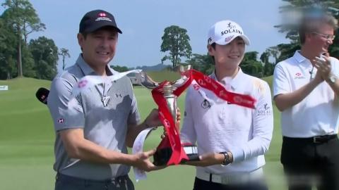 박성현, 마지막 날 8언더파 몰아치기로 LPGA 시즌 첫 우승