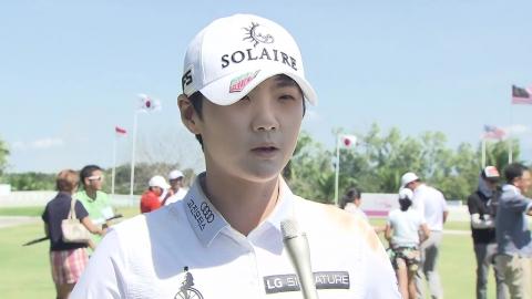 박성현, 필리핀 투어 우승...상금 전액 기부