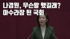 [자막뉴스] 나경원, 무슨말 했길래?...아수라장 된 국회