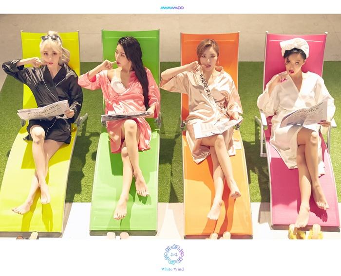 마마무, 비글미 장착한 컴백…'불금퇴근송'으로 돌아왔다(종합)