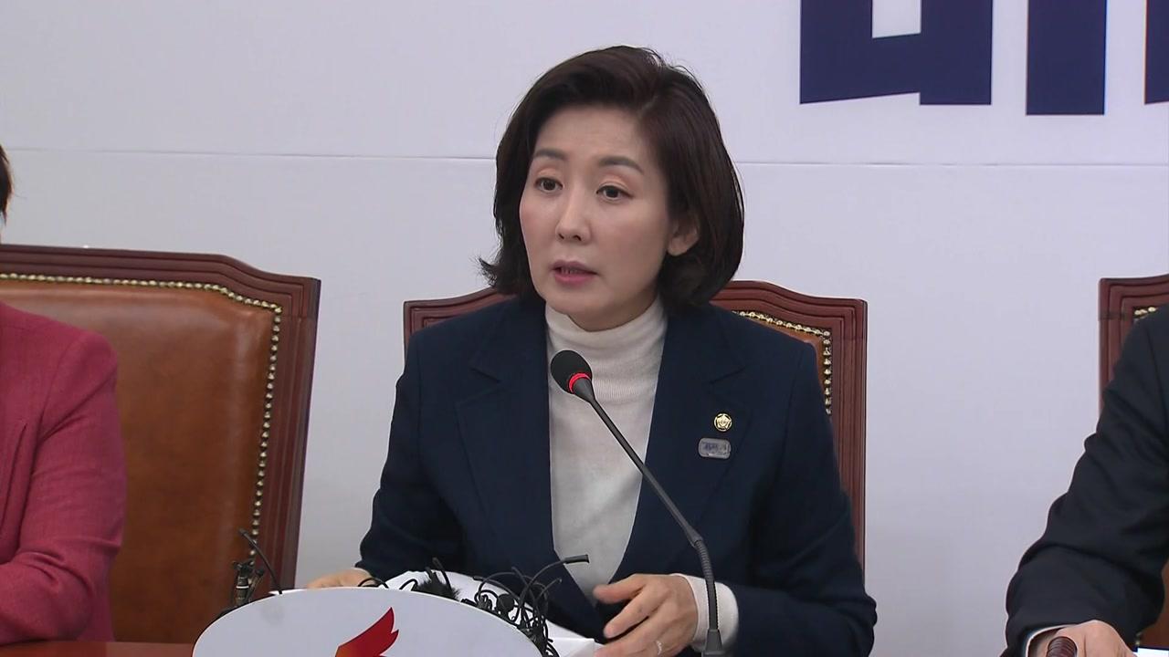 """나경원 """"반민특위로 국민 분열"""" 발언 논란"""