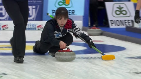여자컬링, 미국·러시아 꺾고 세계선수권 대회 3연승