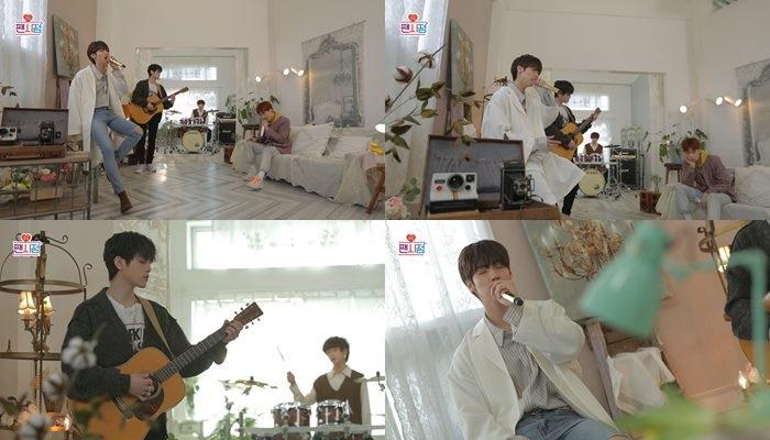 'FNC 팬시점' 엔플라잉, 역주행 1위곡 '옥탑방' 발라드 버전 공개