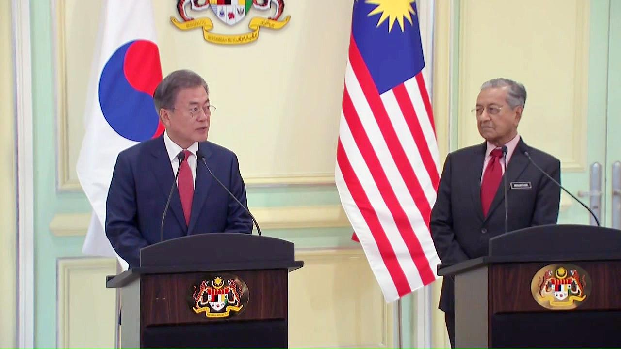 문 대통령, 말레이시아 인사말 4번 실수...낮에 저녁인사·밤에 오후인사