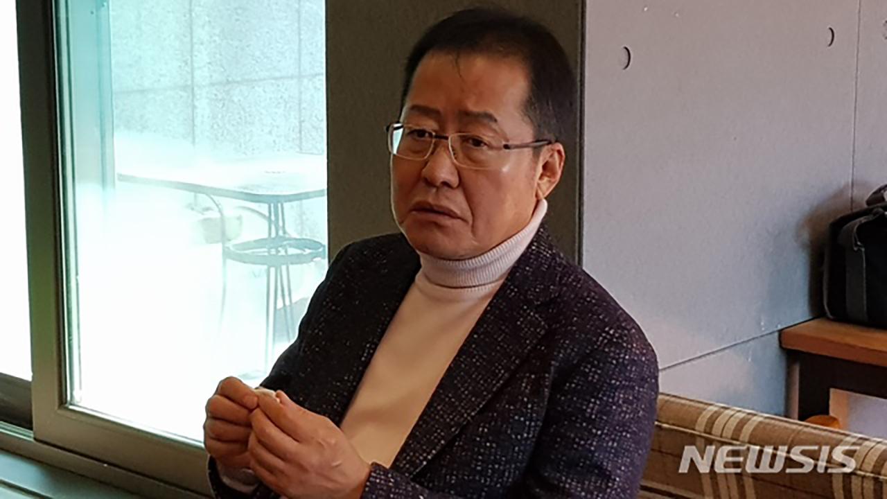 """홍준표, """"김학의·장자연 사건과 무슨 관련?"""" 한국당 비판"""