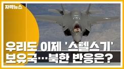 [자막뉴스] 韓 본격적인 '스텔스기' 보유국 반열...북한 반응은?