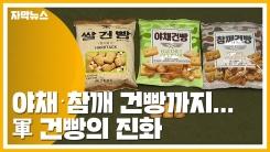 [자막뉴스] 야채·참깨 건빵까지...軍 건빵의 진화