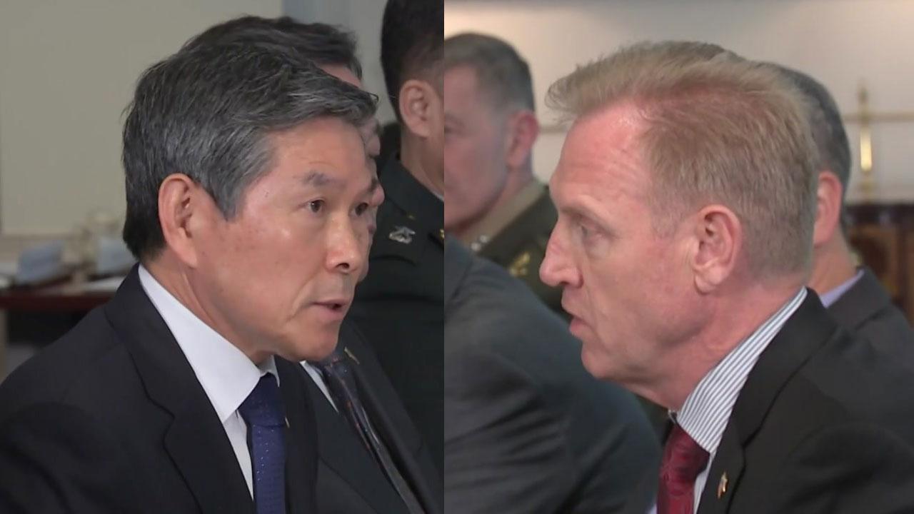 한미 국방장관회담 개최...연합훈련·전작권 전환 협의
