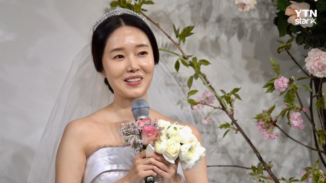 '행복하게 살겠습니다' 이정현, 결혼 소감 #예비신랑 #자녀계획