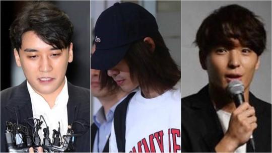 정준영·승리·최종훈, KBS·MBC 출연정지...SBS도 사실상 불가