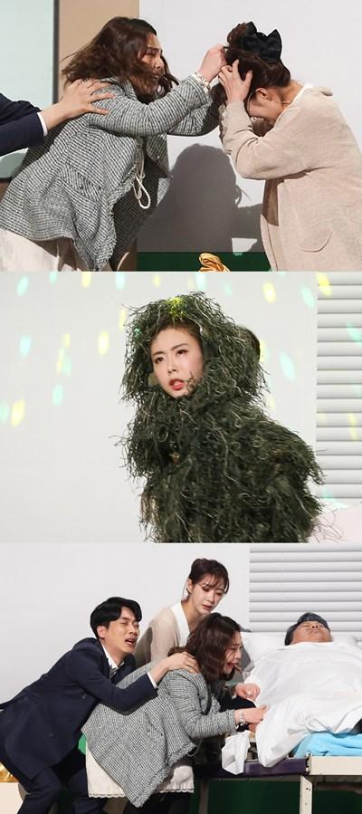 '개그콘서트' 안소미 vs 장하나, 머리채 잡고 싸운 사연은?