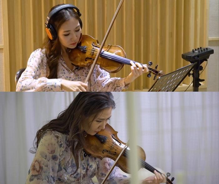 바이올리니스트 노엘라, 영화 '다시, 봄' OST 뮤비 공개…1인 2역 소화