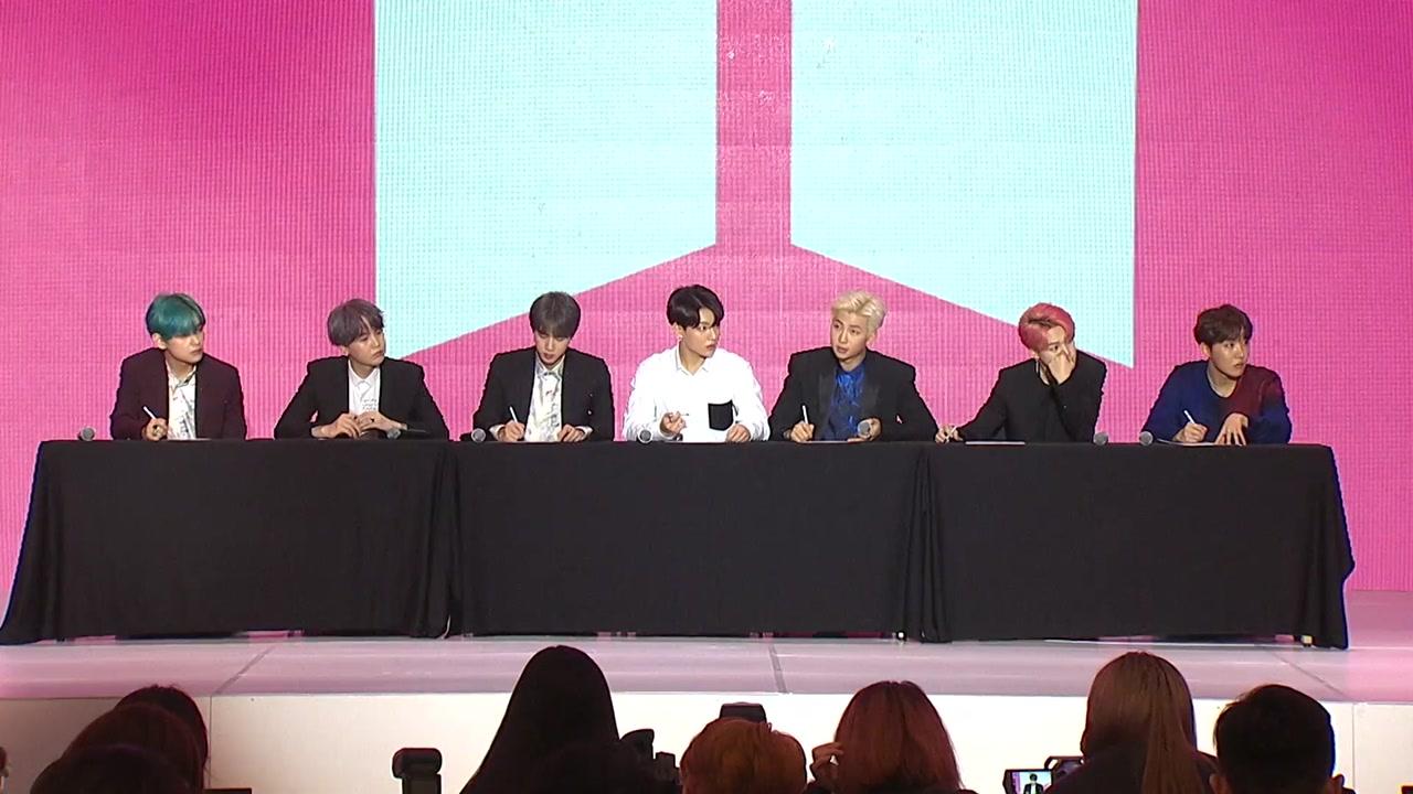 "BTS가 밝힌 특별함의 비밀 '아미'...""뗄 수 없는 사이"""