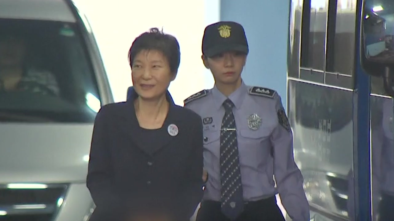 박근혜, 기결수 되자마자 형 집행정지 신청