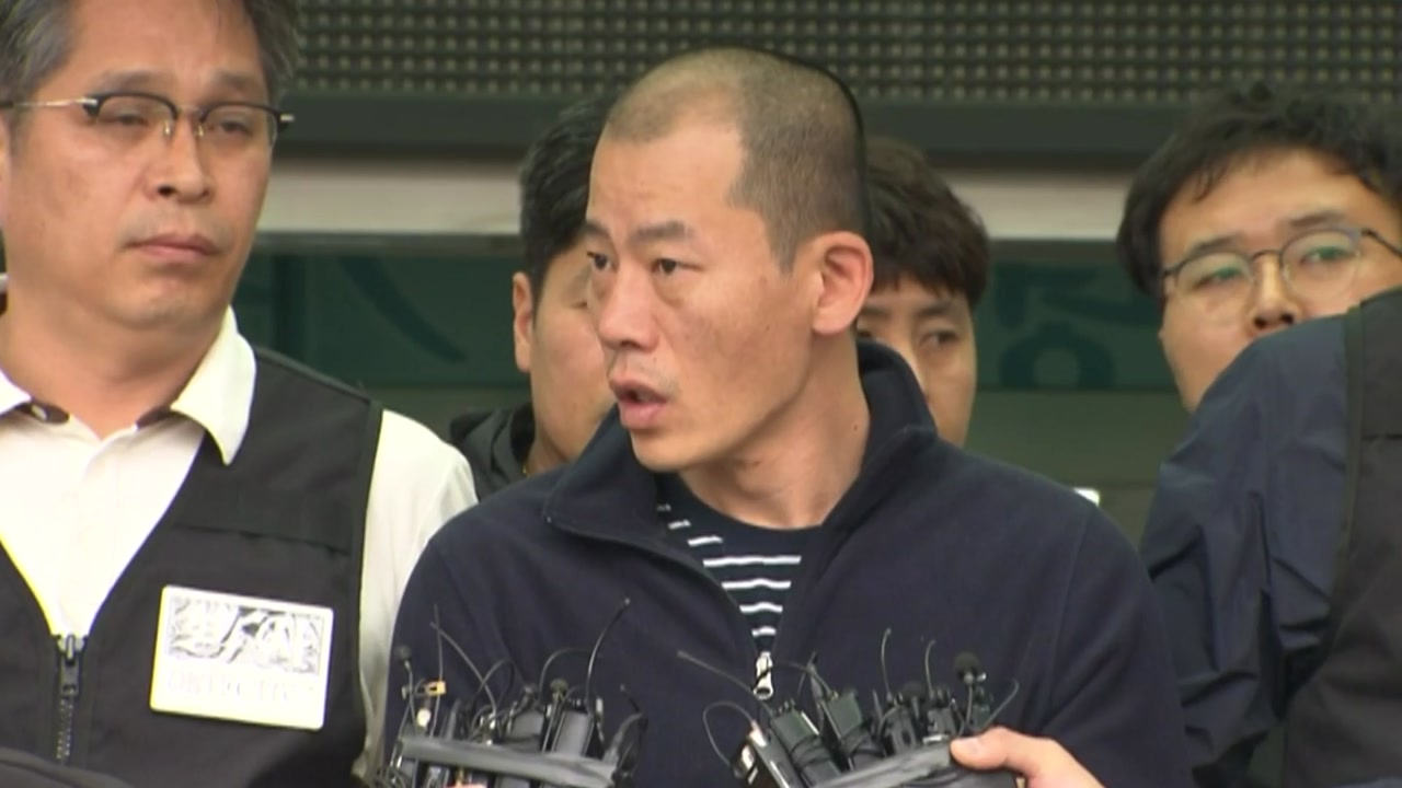 [현장영상] 방화·살인 피의자 42살 안인득 얼굴 공개